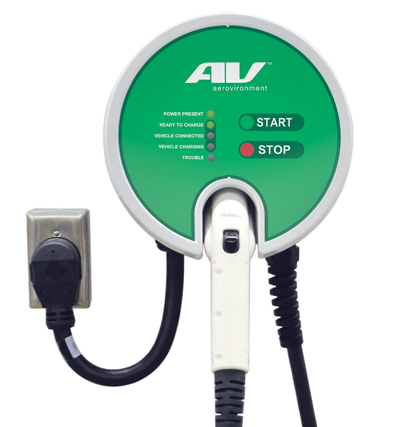 Buy Webasto/AeroVironment EV Charger: Plug-in, 25' Cable, 32A, 7.7kW
