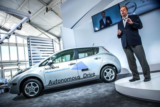History of Nissan's autonomous vehicle plans
