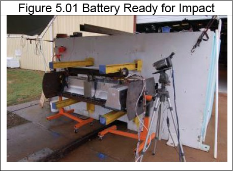 Chevy Volt battery pack fire in 2011